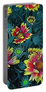 Contrasting Colors Digital Art Portable Battery Charger