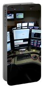 Control Room Center For Emergency Portable Battery Charger by Terry Moore