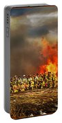 Controlled Burn Portable Battery Charger