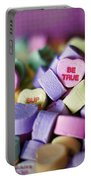 Conversation Hearts Portable Battery Charger