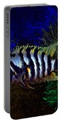 Convict Cichlid Fish Portable Battery Charger