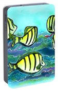 Convict Tang Fish #209 Portable Battery Charger