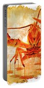 Cooked Lobster On Parchment Paper Portable Battery Charger