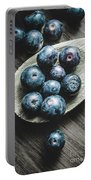 Cooking With Blueberries Portable Battery Charger