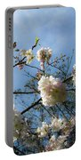 Cool Cherry Blossoms Portable Battery Charger