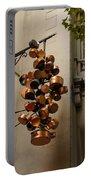Cool Copper Pots - Parisian Restaurant Left Bank La Rive Gauche Portable Battery Charger
