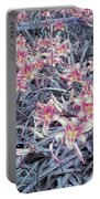 Cool Sunset Field Of Tiger Lillies Portable Battery Charger