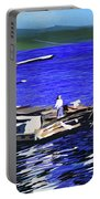 Coos Bay Dockside  Portable Battery Charger