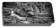 Coos Canyon Black And White Portable Battery Charger