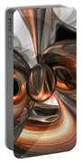 Copper Dreams Abstract Portable Battery Charger