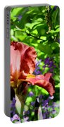Copper Iris Study 9 Portable Battery Charger