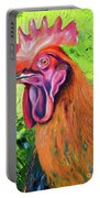 Copper Maran French Rooster Portable Battery Charger