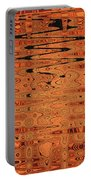Copper Plates Double Abstract Portable Battery Charger