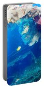Coral Archways Portable Battery Charger