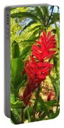 Coral Flower Portable Battery Charger