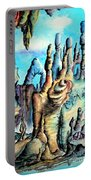 Coral Island, Stone City Of Alien Civilization Portable Battery Charger