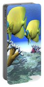 Coral Moods Portable Battery Charger by Corey Ford