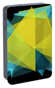 Coral Reef Polygon Pattern Portable Battery Charger