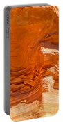Coral Swirls Portable Battery Charger