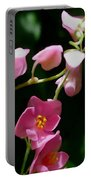 Coral Vine Flower Portable Battery Charger