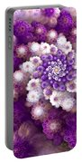 Coraled Blooms Portable Battery Charger