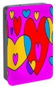 Corazones Portable Battery Charger