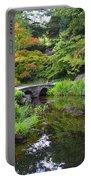 Corbel Arch Bridge Japanese Garden Maymont I Portable Battery Charger
