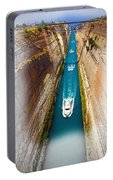 Corinth Canal  Portable Battery Charger
