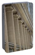 Corinthian Columns Of Union Station Chicago Portable Battery Charger