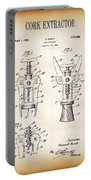 Cork Extractor Patent  1930 Portable Battery Charger