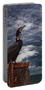 Cormorant Couple Portable Battery Charger