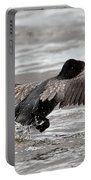 Cormorant Taking To The Air Portable Battery Charger