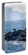 Cormorants At The Cobb - Lyme Regis Portable Battery Charger