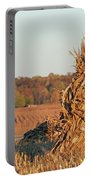 Corn At Harvest Portable Battery Charger