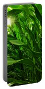 Corn Field Portable Battery Charger by Carlos Caetano