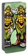 Corn Party Portable Battery Charger