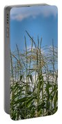 Corn Tassels In The Sky Portable Battery Charger