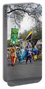 Corner Club 4 - Mardi Gras New Orleans Portable Battery Charger