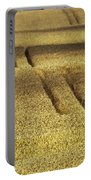 Cornfield Portable Battery Charger by Heiko Koehrer-Wagner