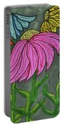 Cornflowers In Bloom Portable Battery Charger