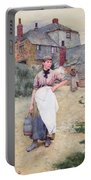 Cornish Village Maiden Portable Battery Charger
