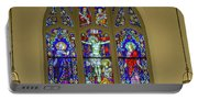 Corr Hall Stain Glass Portable Battery Charger