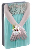 Corsage Portable Battery Charger by Rod Sterling