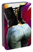 Corset And Jeans Portable Battery Charger