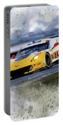 Corvette Racing Portable Battery Charger