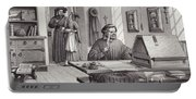 Cosimo Medici Sitting In His Home In Florence Portable Battery Charger