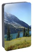 Cosley Ridge Over Cosley Lake - Glacier National Park Portable Battery Charger