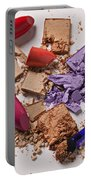 Cosmetics Mess Portable Battery Charger by Garry Gay