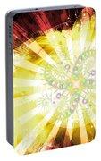 Cosmic Solar Flower Fern Flare 2 Portable Battery Charger