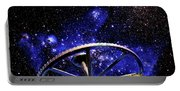 Cosmic Wheel Portable Battery Charger